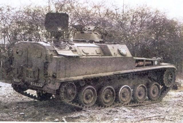 AMX-13 VCI dengan radar udara
