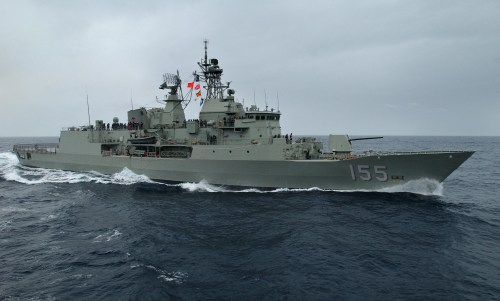HMAS Ballarat, salah satu dari ANZAC Class Australia