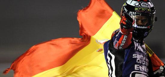 Jorge Lorenzo juara MotoGP Qatar