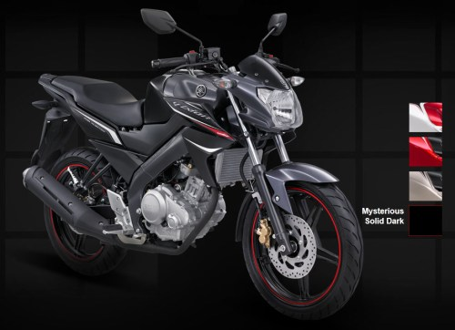 Yamaha New Vixion - Mysterious Solid Dark