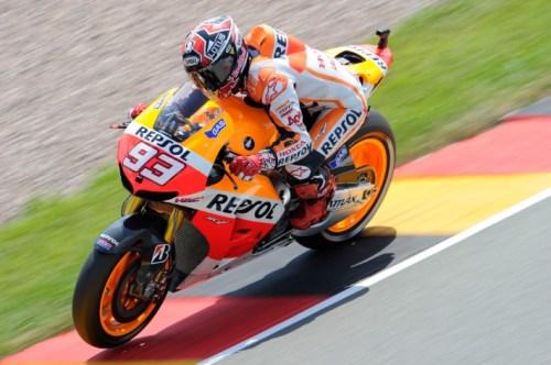marc marquez pole position - motogp sachsenring