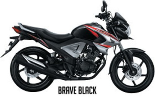 Honda New Megapro FI - Warna Brave Black