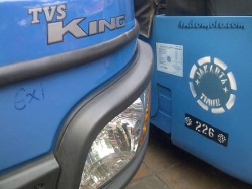 Motor roda tiga TVS King