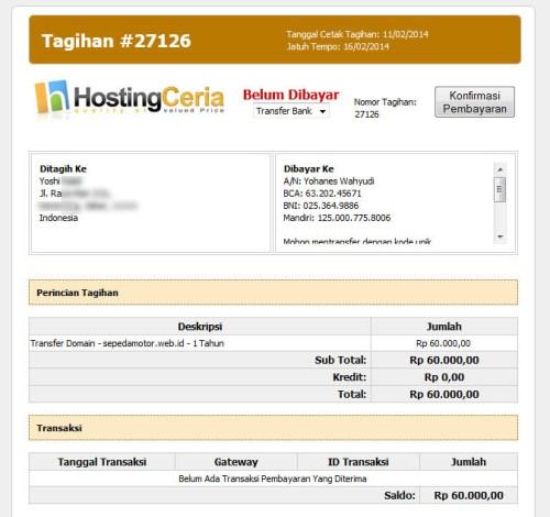 tagihan-transfer-domain