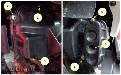 screw filter air cleaner honda beat