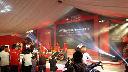 Launching Honda All New CBR 150R