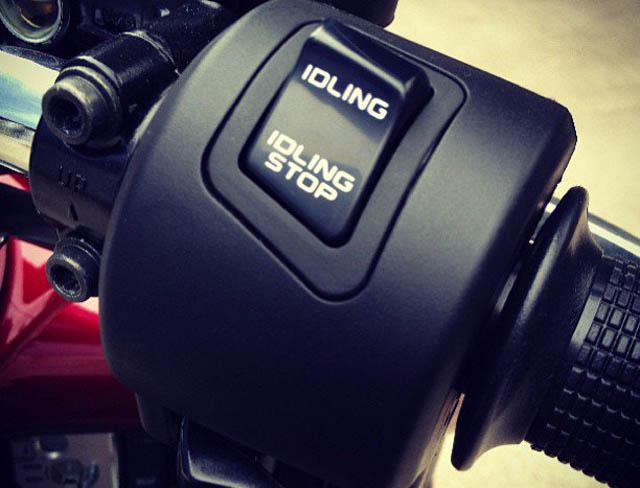 Honda Beat Idling Stop System