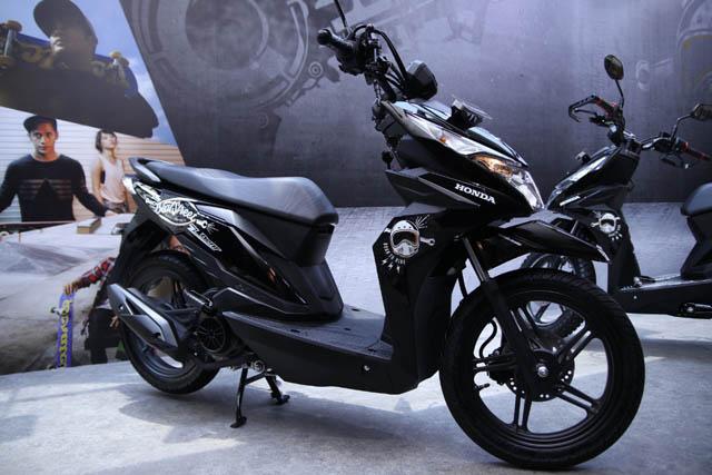 Honda Beat Street eSP warna Hitam (Street Black)