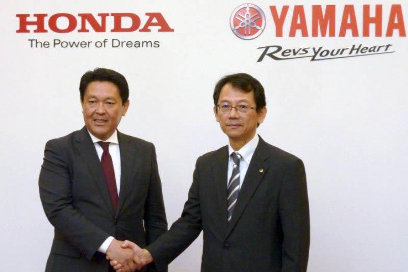 honda-yamaha collaboration