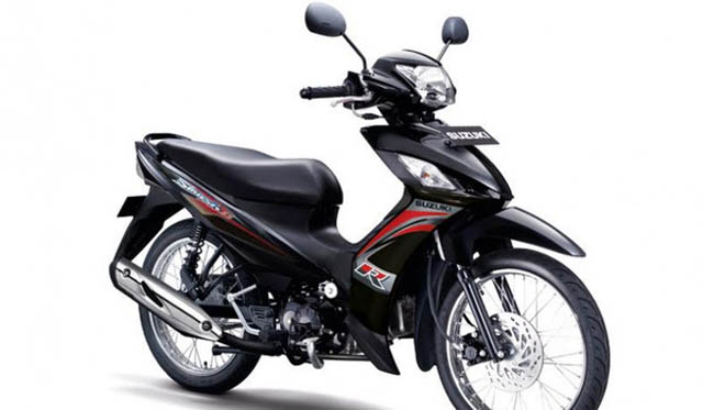 Suzuki New Smash FI 2017 Warna Hitam