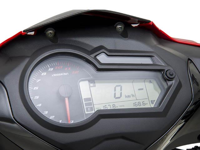 Benelli RFS 150i Digital Dashboard