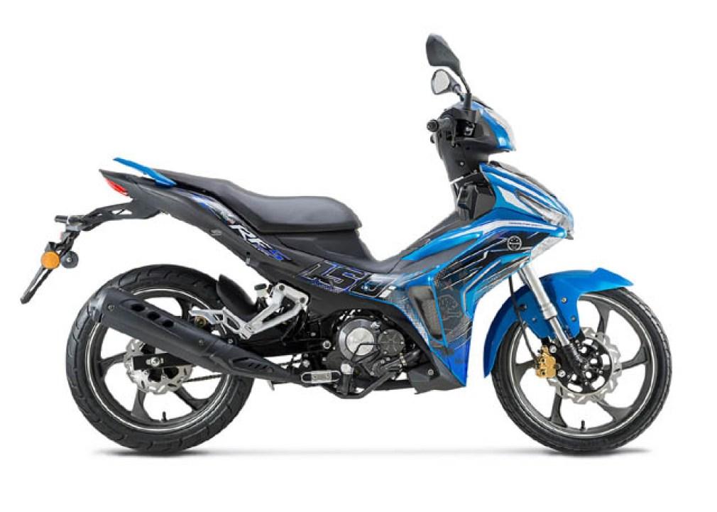 Benelli RFS 150i warna biru