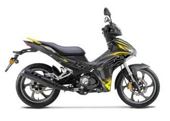 Benelli RFS 150i warna kuning