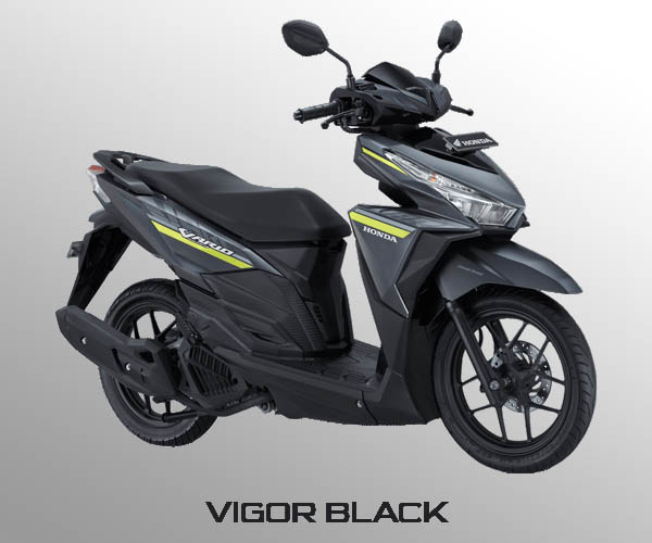 Honda Vario 125 warna Vigor Black