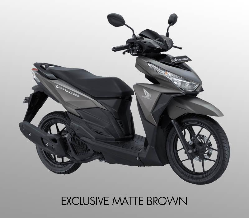 Honda Vario 150 eSP warna Exclusive Matte Brown