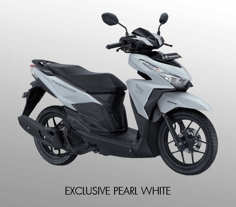 Honda Vario 150 eSP warna Exclusive Pearl White
