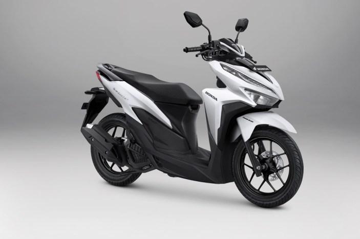Honda Vario 125 Warna Advance Matte White
