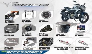 Aksesoris Yamaha Vixion Terbaru 2017