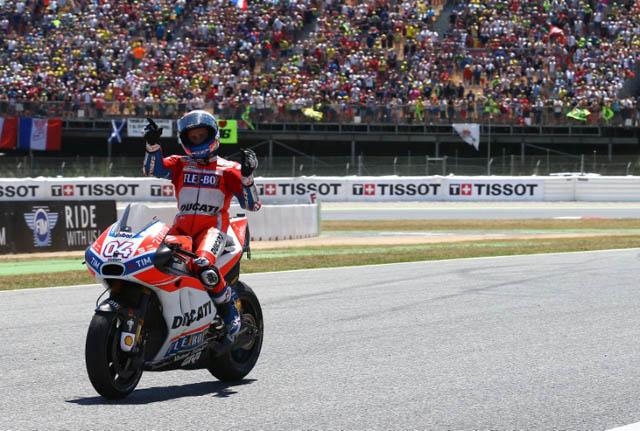 Andrea Dovizioso juara MotoGP Austria