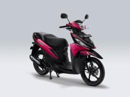 Suzuki Address Playful warna Hyper Pink