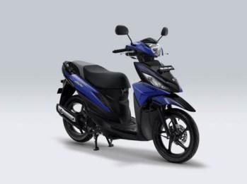 Suzuki Address Playful warna Macho Bright Blue