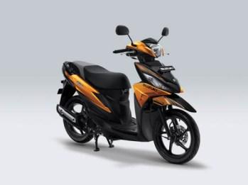 Suzuki Address Playful warna Majestic Gold