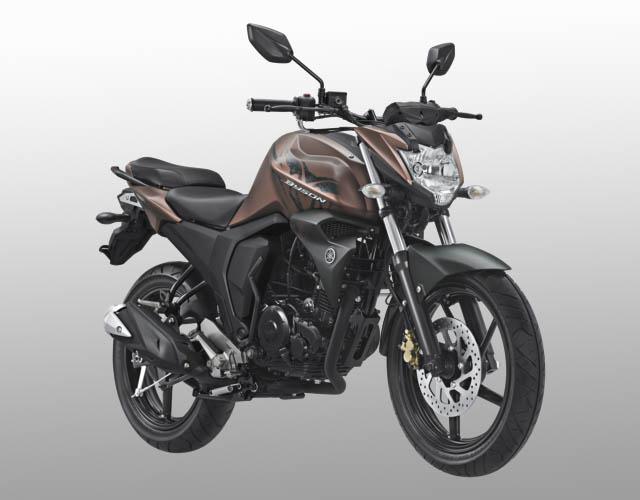 Yamaha Byson FI warna matte brown