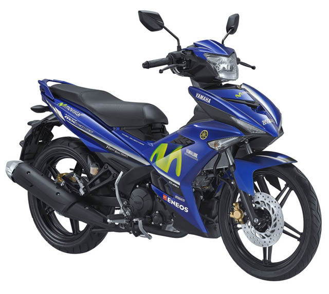 Yamaha MX King warna Movistar MotoGP