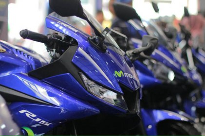 Yamaha All New R15 warna Movistar MotoGP