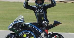 Dennis Foggia juara FIM CEV Moto3 Estoril Portugal