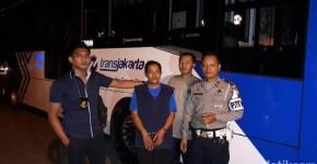 pencurian bus Transjakarta