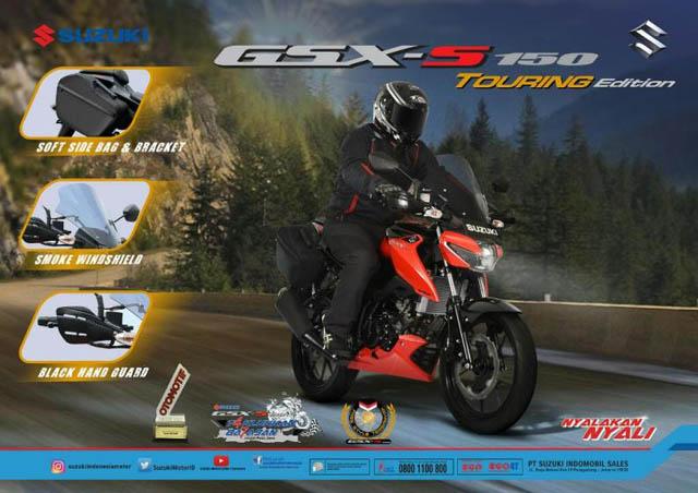 Suzuki GSX-S150 Touring Edition