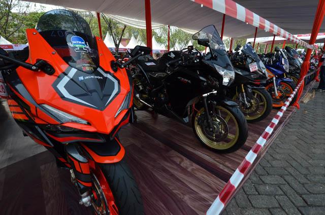 Peserta Honda Modif Contest - HMC 2017 seri Jakarta