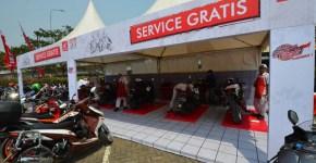Servis gratis di ajang HMC 2017 seri Jakarta