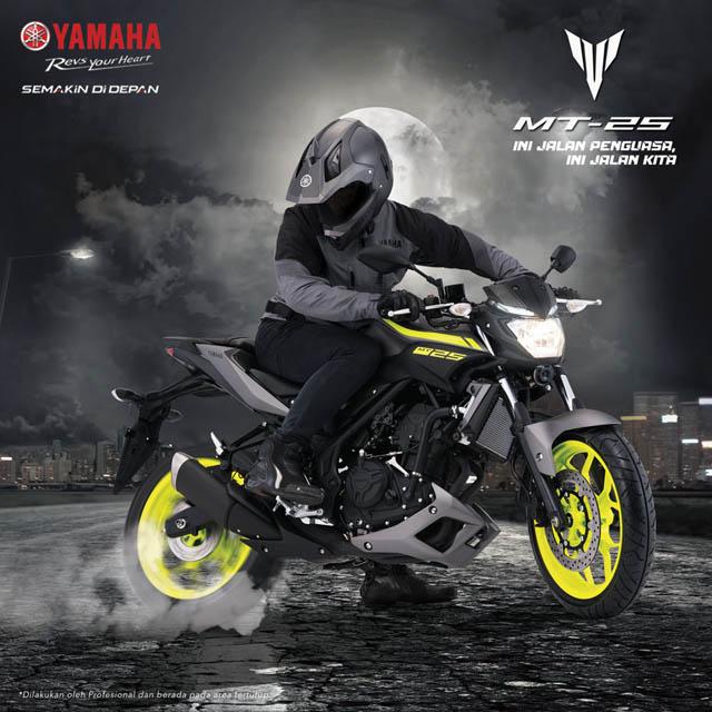 Harga Yamaha MT25 Terbaru 2017 / 2018