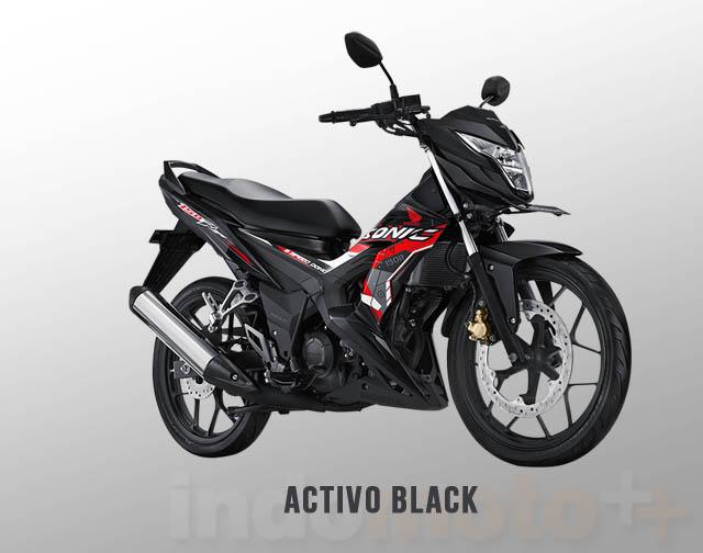 Honda Sonic 150R Warna Activo Black (Hitam)
