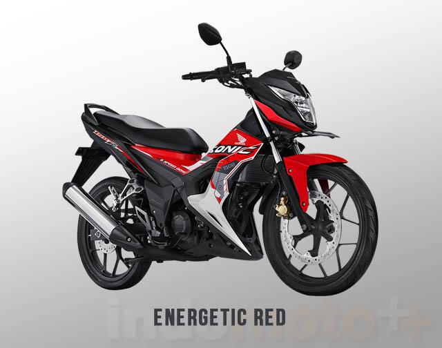 Honda Sonic 150R Warna Energetic Red (Merah)