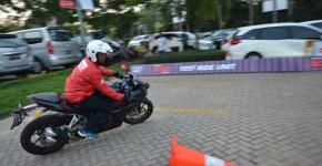Test ride motor sport Honda