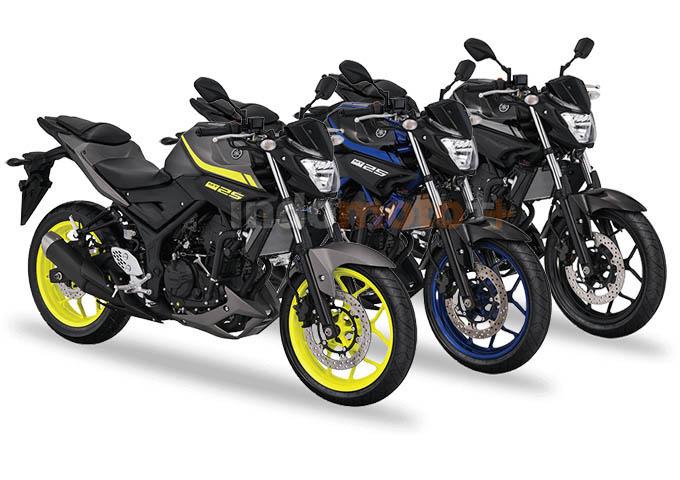 Pilihan warna Yamaha MT25