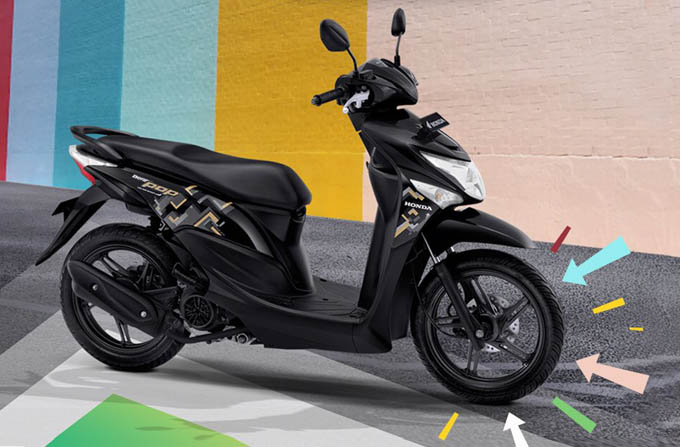 4 Warna Baru Honda Beat Pop Pakai Velg Model Baru Dan Ban