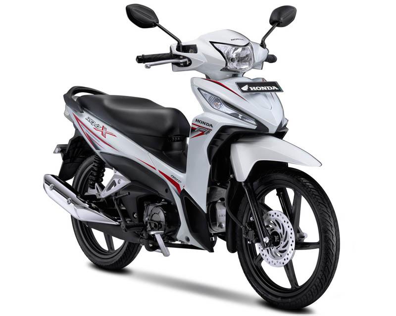 Honda Revo X Warna Cosmic White (Putih)
