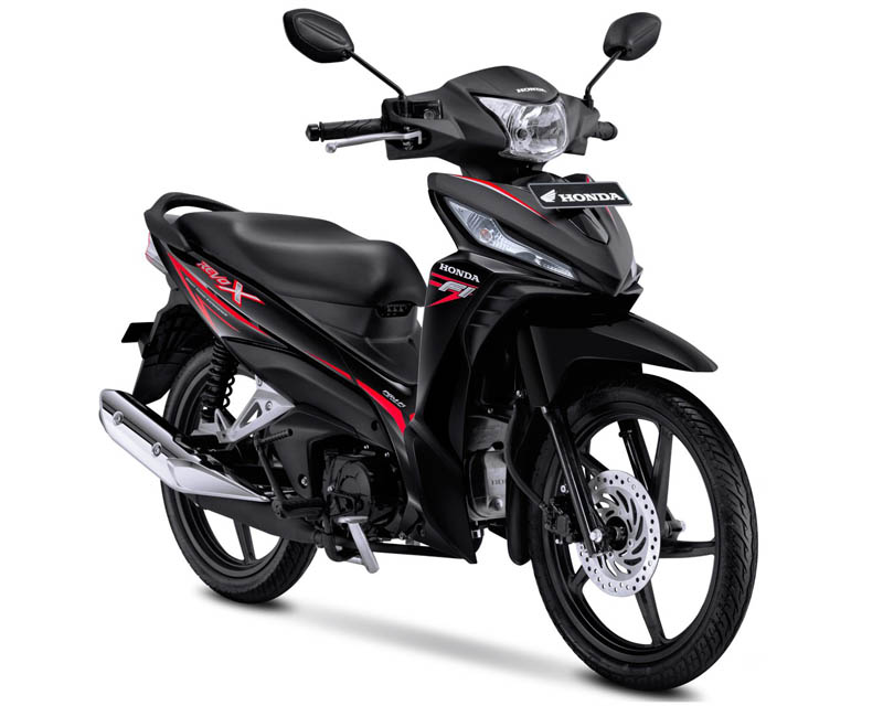 Honda Revo X Warna Quantum Black (Hitam)