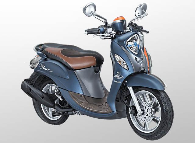 Yamaha Fino 125 Grande Warna Royal Blue (Biru)