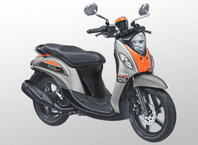 Yamaha Fino 125 Sporty Warna Pump Grey (Abu-abu)