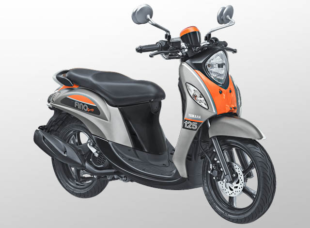 Yamaha Fino 125 Sporty Warna Pump Grey (Abu-abu)