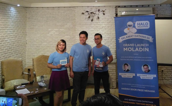 Grand launching Moladin