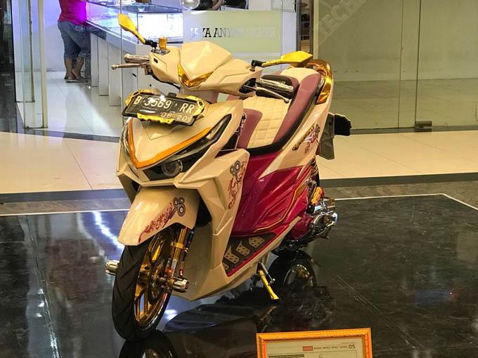 Modifikasi Honda Vario eSP