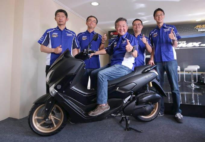 Launching Yamaha NMAX 155 Model 2018