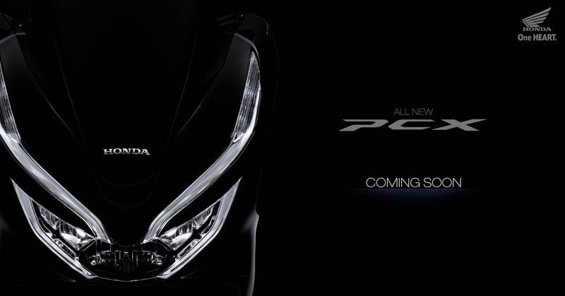 Teaser Honda All New PCX 2018