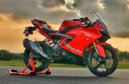 TVS Apache RR 310 Racing Red